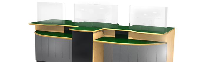 Latest office counter design crowdbuild for for Office design guidelines uk